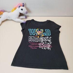The Muppets Animal Wild Graphic Tee Shirt